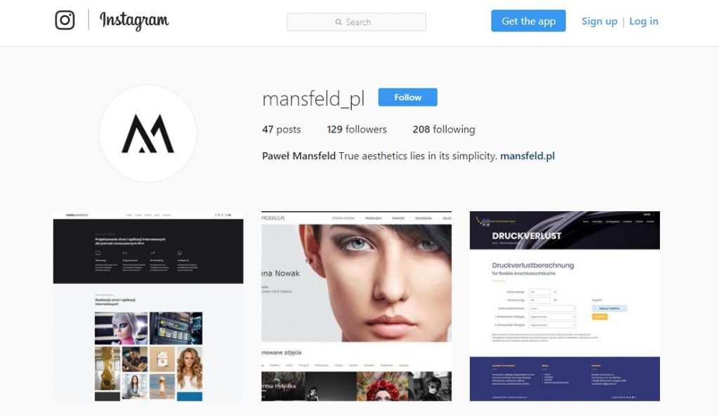 firma w social media - instagram