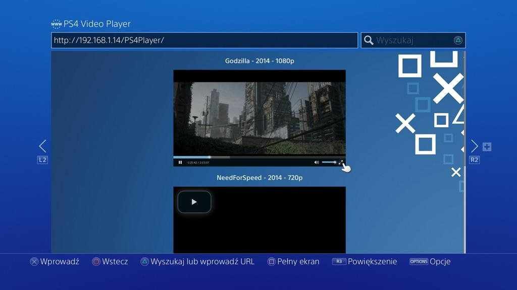 PS4Player-screen