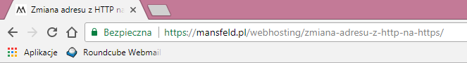 migracja SSL - http na https