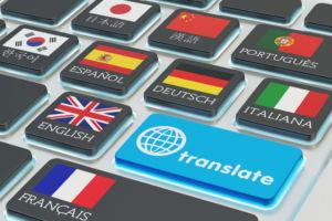 strony w kilku jezykach