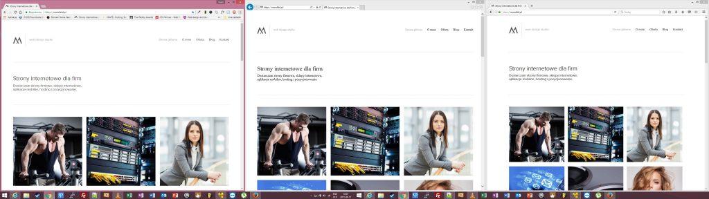 testowanie stron internetowych - windows