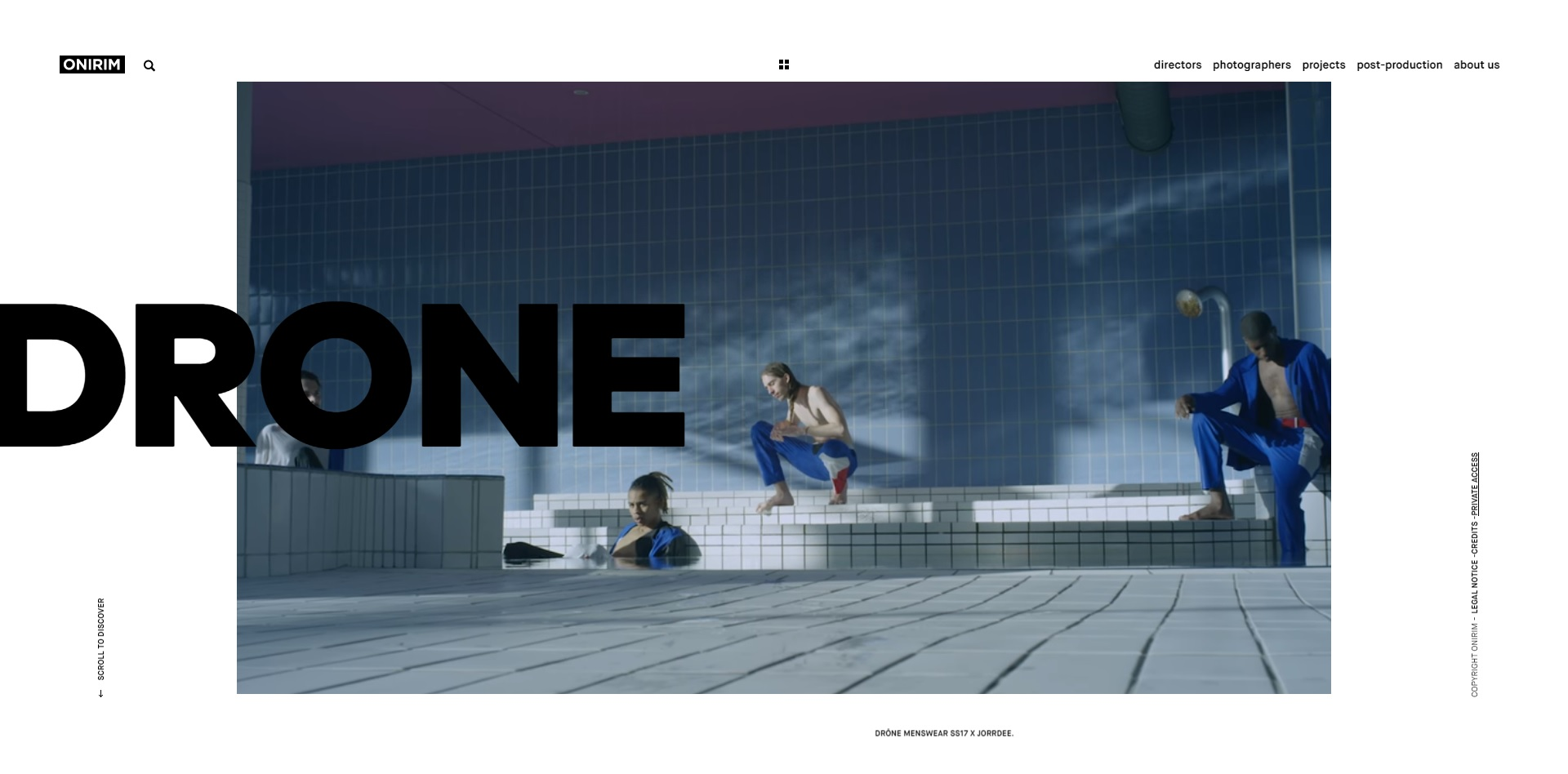 trendy web design 2018 - typografia