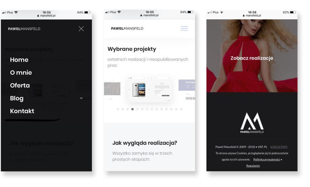 Nowoczesne strony WWW - mobile first