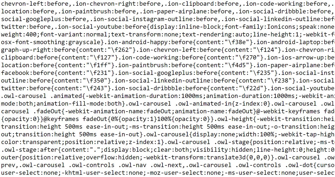 Minifikacja (minimalizacja) JS, CSS, HTML