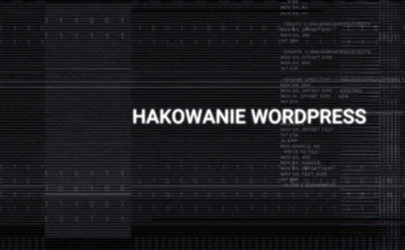 Hakowanie WordPress