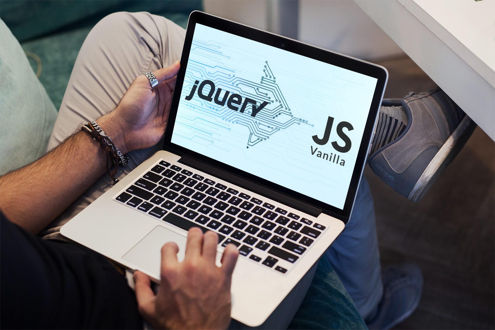 Metody jQuery w czystym JavaScript (Vanilla)