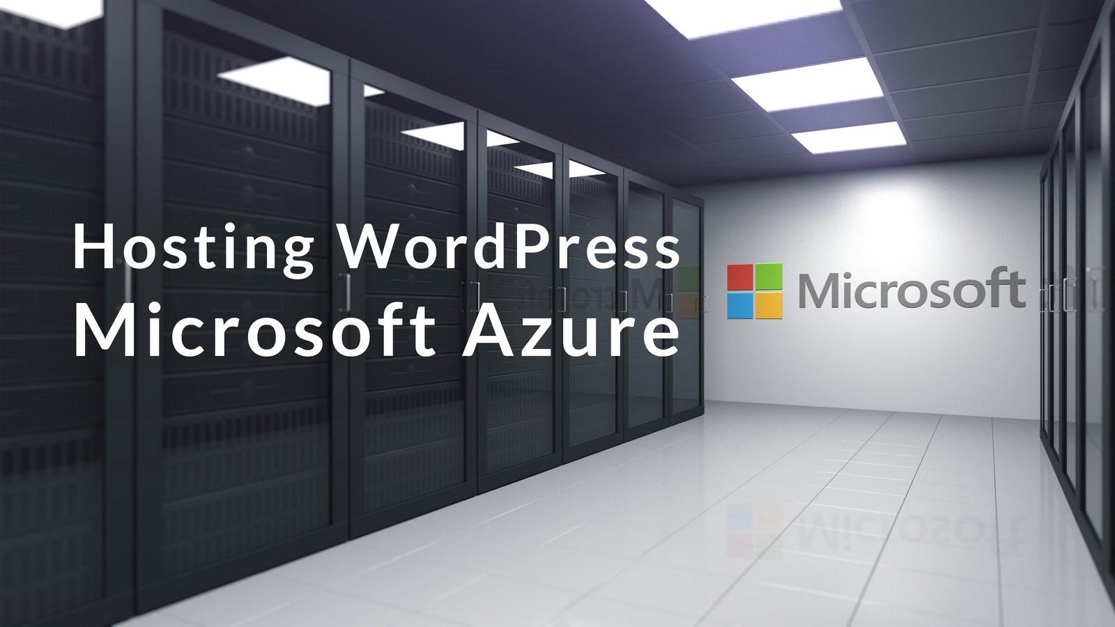 Hosting WordPress w Microsoft Azure – instalacja